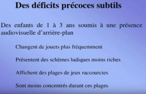Déficits précoces