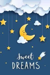 La lune et les étoiles pour un bon sommeil